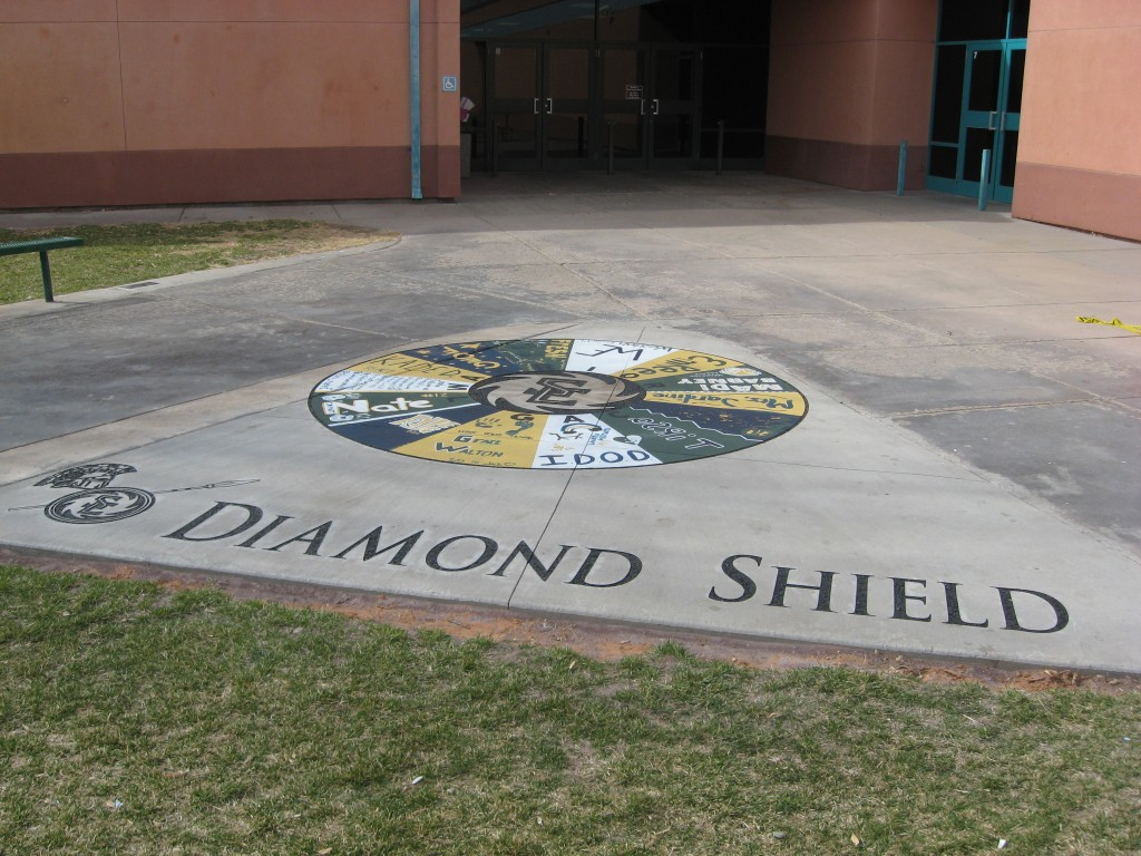 Diamond Shield Circle Of Honor